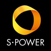 S-POWER logo